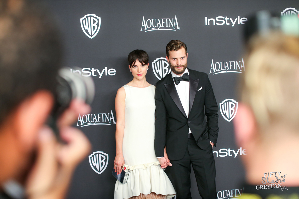 Afterparties globos de oro Dakota Jamie 50 Sombras 26