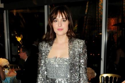 Fotos de Dakota Jonson en la after-party HBO de los Globos de oro