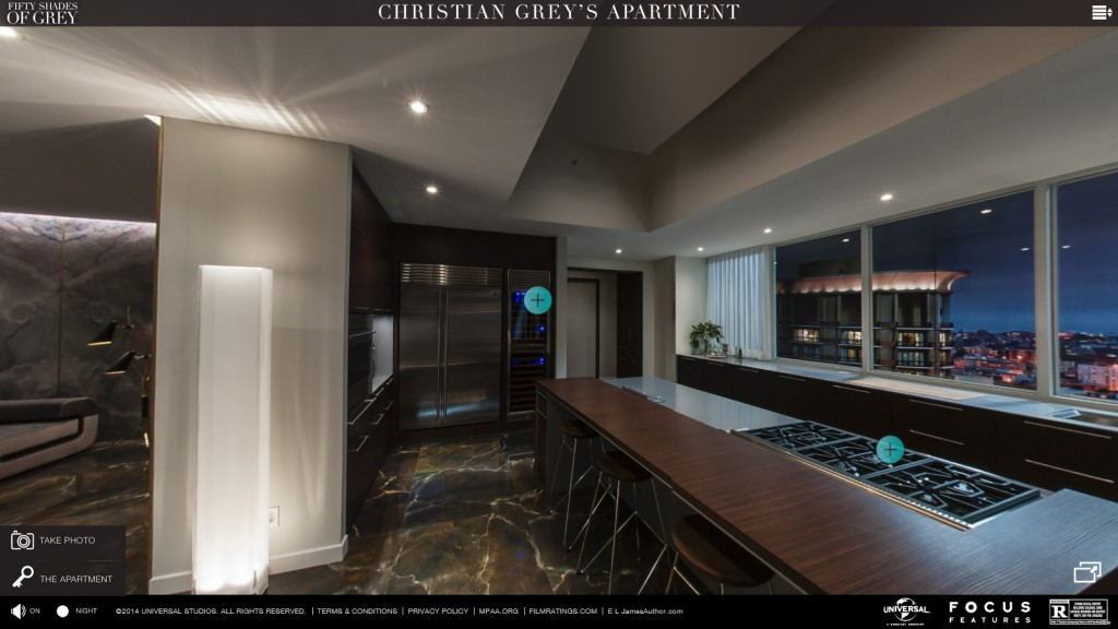 Visita Virtual Al Apartamento De Christian Grey Con