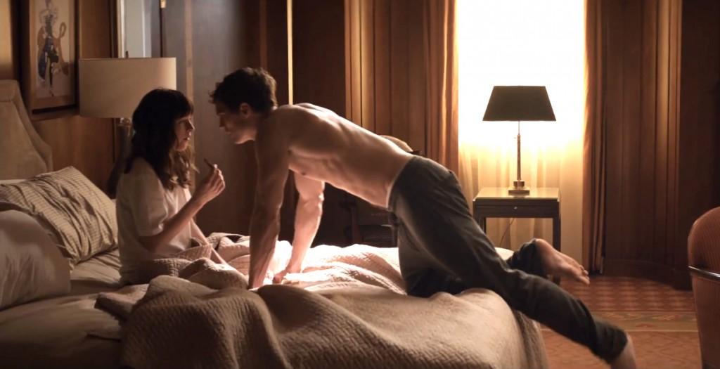 Christian Grey Ana Steele 50 Sombras hotel