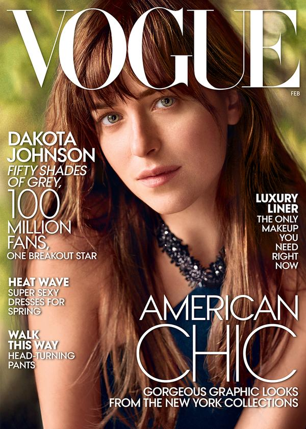 Dakota Johnson 50 Sombras Vogue feb 15 18