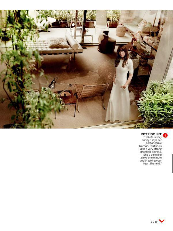 Dakota Johnson 50 Sombras Vogue feb 15 19