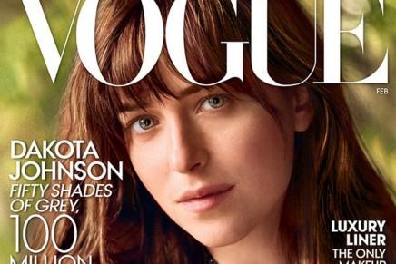 Dakota Johnson, espectacular en la revista Vogue (Febrero 2015)