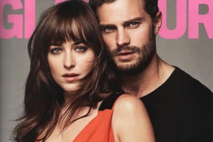 Reportaje de fotos de Jamie y Dakota en la revista Glamour USA (marzo 2015)