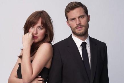 Impresionante foto de Jamie y Dakota para la revista World Screen