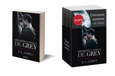 Nuevas ediciones especiales: libro 50 Sombras de Grey y estuche trilogía