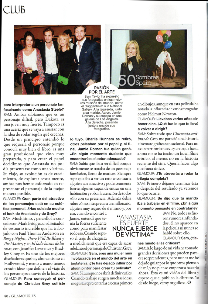 Sam Taylor Johnson 50 Sombras Glamour feb 15 3