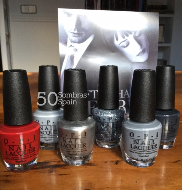 Sorteo OPI Grey 50 Sombras Spain 1
