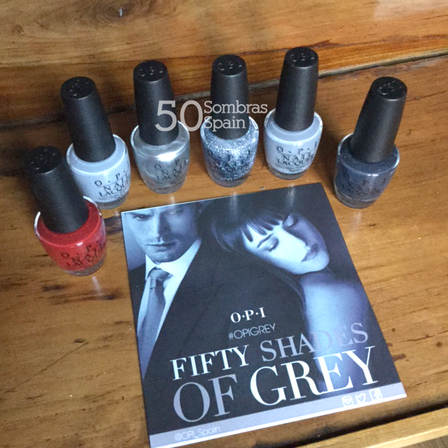 Sorteo OPI Grey 50 Sombras Spain 2