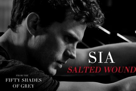 Tercera canción oficial de la película 50 Sombras: «Salted Wound» de Sia