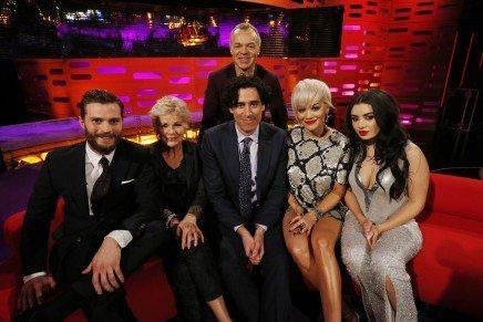 Jamie Dornan en The Graham Norton Show