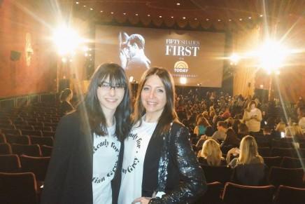 FOTOS PROPIAS del estreno en NY por Carmen y Elena