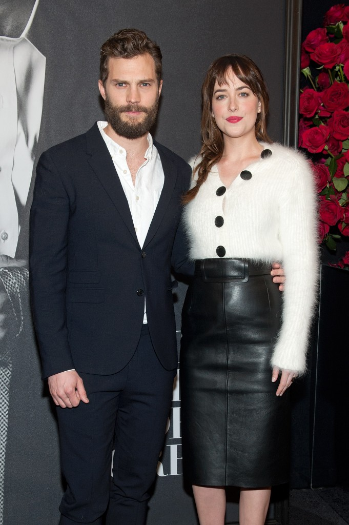 """Fifty Shades of Grey"" Fan First Screening"
