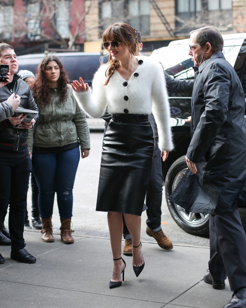Dakota Johnson in New York City