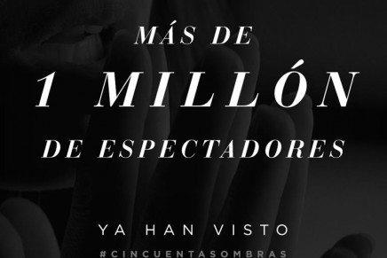 50 Sombras de Grey arrasa en taquilla y es la película nº 1 en los cines de España