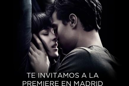 Te invitamos a la première 50 Sombras en Madrid