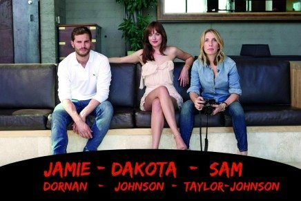 Photoshoot oficial de Dakota Johnson, Jamie Dornan y Sam Taylor-Johnson (2)