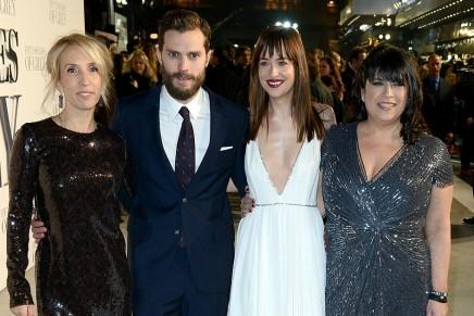 ¡Premiere de 50 Sombras de Grey en Londres!