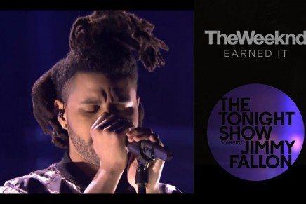 The Weeknd en The Tonight Show Starring Jimmy Fallon