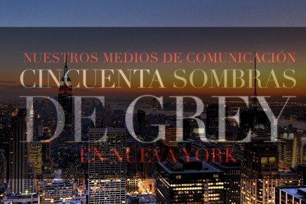 Entrevistas de medios españoles a los actores de 50 Sombras en Nueva York