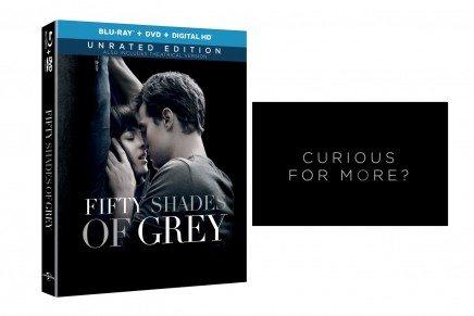Toda la información sobre el contenido del Blu-Ray 50 Sombras de Grey en su edición para USA
