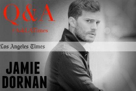 Horarios y enlace al Q&A de Jamie Dornan desde Los Angeles Times