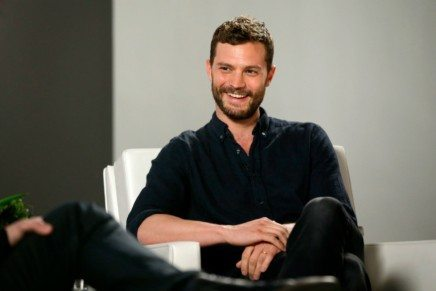 Jamie Dornan ayer en L.A. para Variety Studios: Actors on Actors