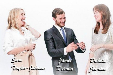 Photoshoot Oficial de Dakota Johnson, Jamie Dornan y Sam Taylor-Johnson (3)