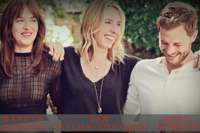 Photoshoot Oficial de Dakota Johnson, Jamie Dornan y Sam Taylor-Johnson (4)