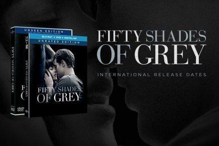 Fechas internacionales de lanzamiento DVD/Blu-Ray de 50 Sombras y vídeos con avance de los extras