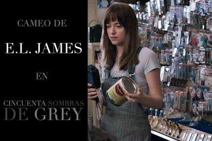 Cameo de E.L. James en la película 50 Sombras de Grey