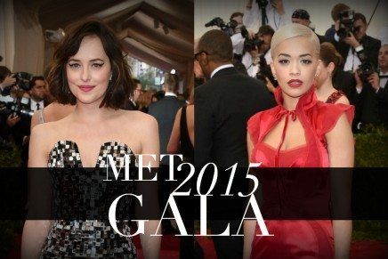 Dakota Johnson y Rita Ora en la Gala MET 2015