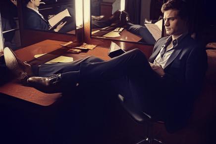 Nueva foto de Jamie Dornan en el rodaje de 50 Sombras de Grey