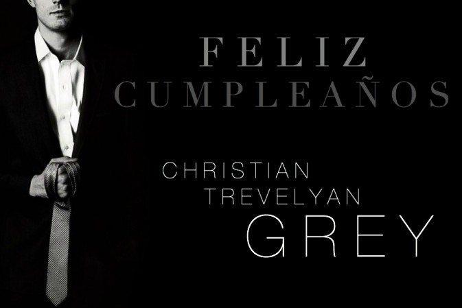 ¡Hoy es el cumpleaños de Christian y el lanzamiento de GREY!