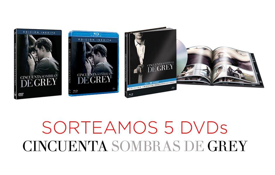 Sorteamos 5 dvds de la pel cula 50 sombras de grey 50 - 50 sombras de grey spain ...
