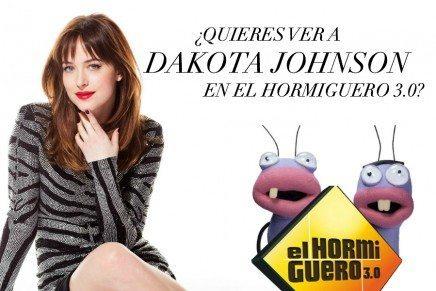 ¡Os invitamos a asistir como público a El Hormiguero y ver a Dakota Johnson!