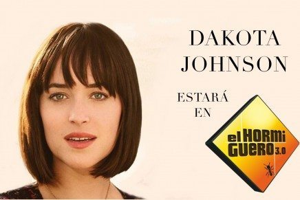 Dakota Johnson estará en El Hormiguero