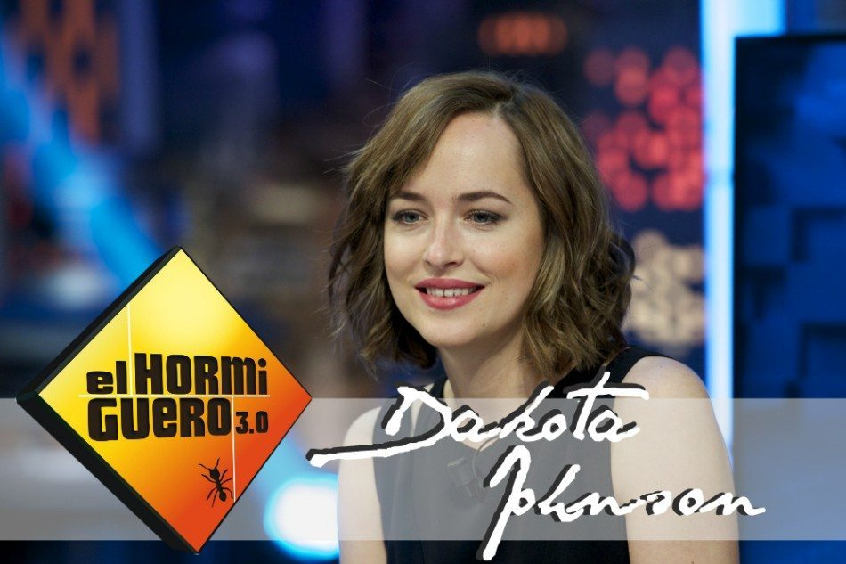 ¡Dakota Johnson, 50 Sombras Spain y los fans en El Hormiguero!