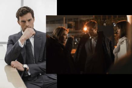 Nuevas imágenes en el set de rodaje de Cincuenta Sombras de Grey