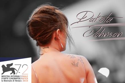 Dakota Johnson en el Festival de Cine de Venecia 2015