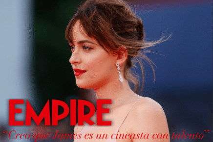 Dakota Johnson habla de 50 Sombras Más Oscuras y de James Foley como director