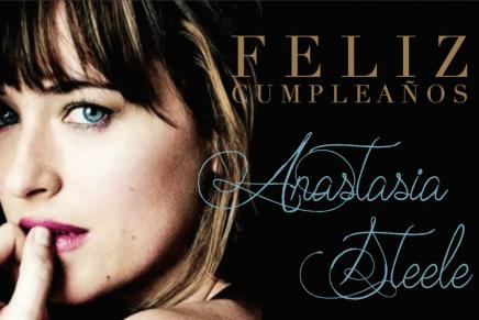 ¡Cumpleaños de Ana y nuevo outtake de 50 Sombras de Grey!