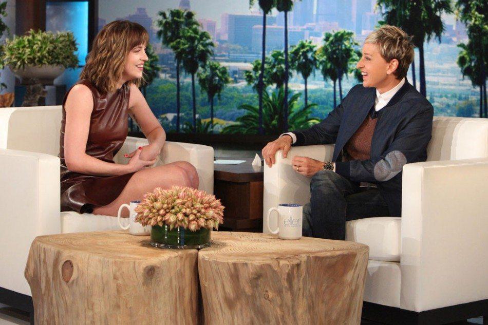 Dakota habla sobre 50 Sombras Más Oscuras en el programa The Ellen Show