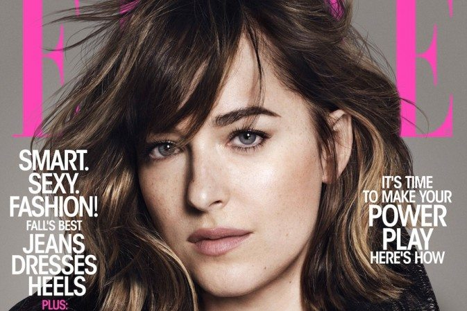 Dakota Johnson para ELLE MAGAZINE