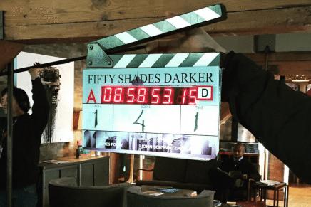 Primer día de rodaje de 50 Sombras Más Oscuras