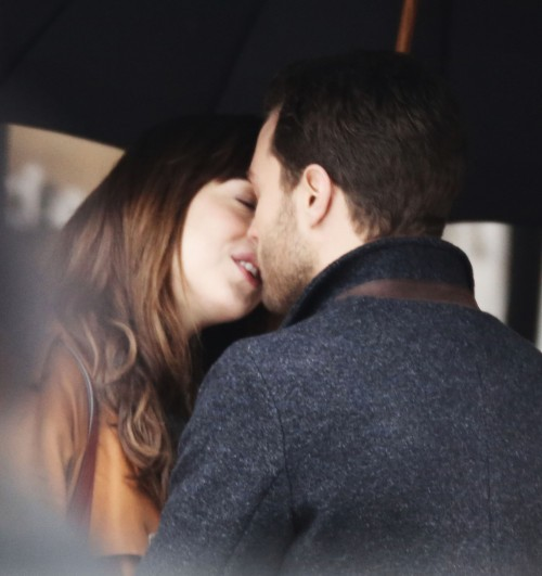 On The Set Of 'Fifty Shades Darker'