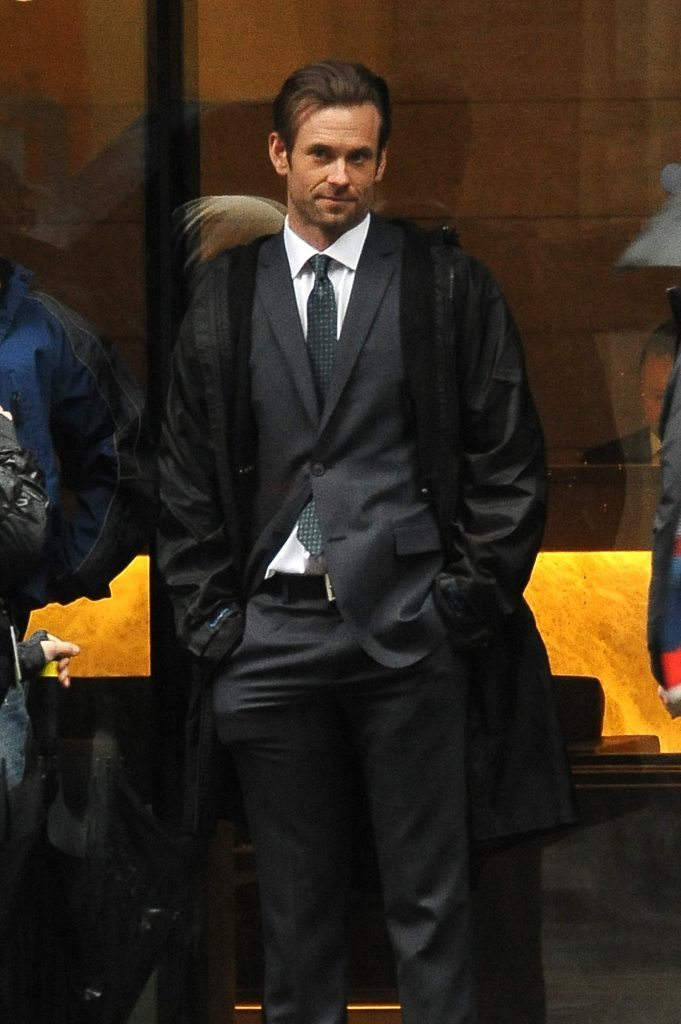 EXCLUSIVE: Eric Johnson arrives on set for '50 Shades Darker' to play Christian Grey's rival! Eric Johnson is set to play Jack Hyde in the upcoming sequel to 50 Shades of Grey. Eric looked suave in a suit as he filmed scenes in the rain in Vancouver Pictured: Eric Johnson Ref: SPL1246652 140316 EXCLUSIVE Picture by: Splash News Splash News and Pictures Los Angeles: 310-821-2666 New York: 212-619-2666 London: 870-934-2666 photodesk@splashnews.com