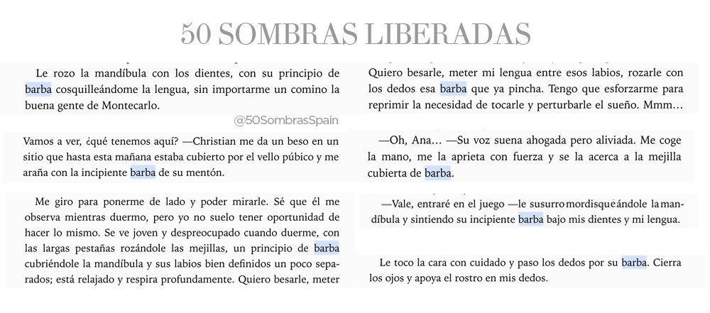 Barba Christian Grey en 50 Sombras Liberadas2
