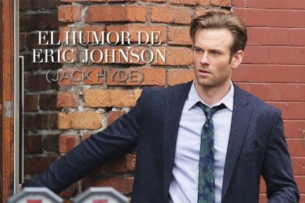 El divertido e irónico Eric Johnson (Jack Hyde)