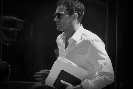 7 de junio: De camino al set de rodaje… ¡Qué calor con el Sr.Grey!